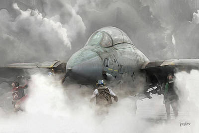 F-14 Smokin' Hot Poster