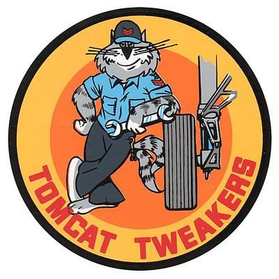 F-14 Tomcat Tweakers Poster