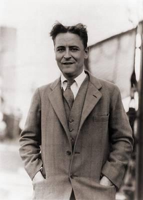 F. Scott Fitzgerald, 1896-1940 In 1928 Poster by Everett
