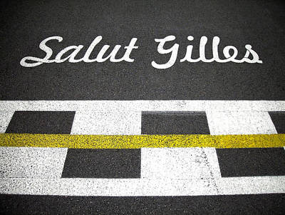 F1 Circuit Gilles Villeneuve - Montreal Poster by Juergen Weiss