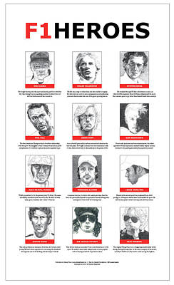 F1heroes Poster Poster