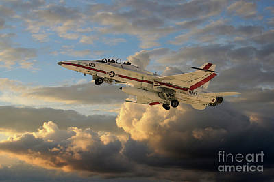 Fa-18b Hornet Poster