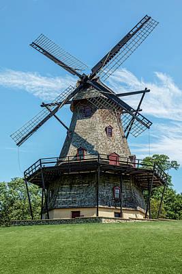 Fabyan Dutch Windmill Poster