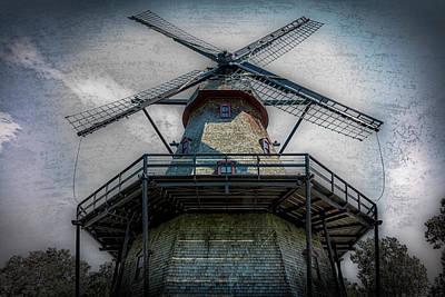 Fabyan Windmill Poster