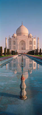 Facade Of A Building, Taj Mahal, Agra Poster by Panoramic Images