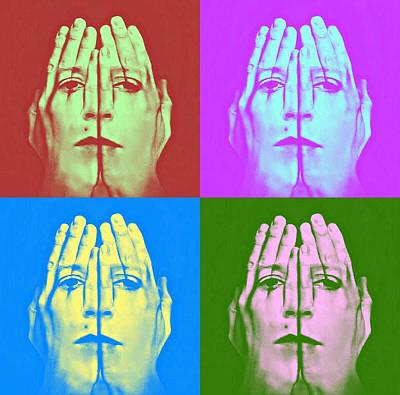 Face Art Poster