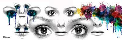 Facial Expression Poster by Solomon Barroa