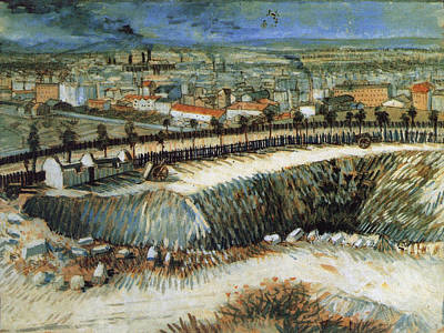 Factories, Outskirts Of Paris, Near Montmartre, 1887 Poster by Vincent Van Gogh