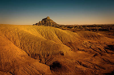 Factory Butte Poster