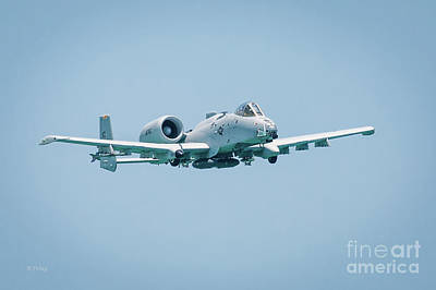 Fairchild A-10 Thunderbolt II Poster by Rene Triay Photography