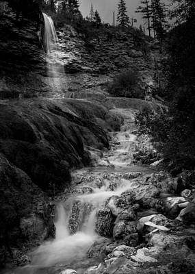 Fairmont Waterfall Poster
