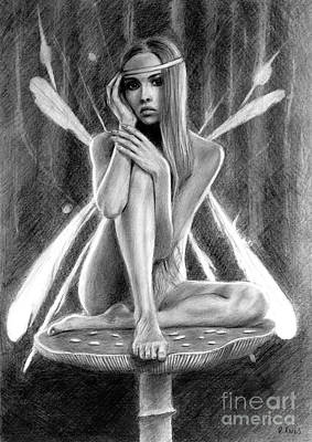 Fairy Drawing Poster