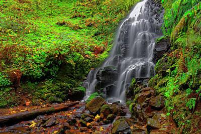 Fairy Falls Oregon Poster by Jonathan Davison