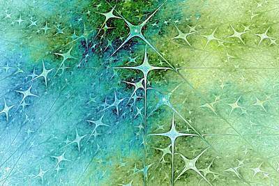 Fairy Stars Poster by Doug Morgan
