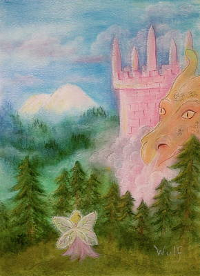 Fairy Sunrise Poster