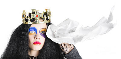 Fairy Tale Crying Queen Poster by Jorgo Photography - Wall Art Gallery