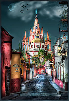 Fairy Tale Street Poster
