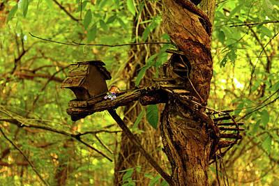 Fairy Tree Poster by Susan Vineyard