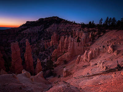 Poster featuring the photograph Fairyland Canyon by Edgars Erglis