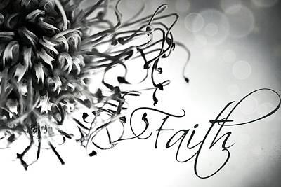 Poster featuring the photograph Faith by Bobby Villapando