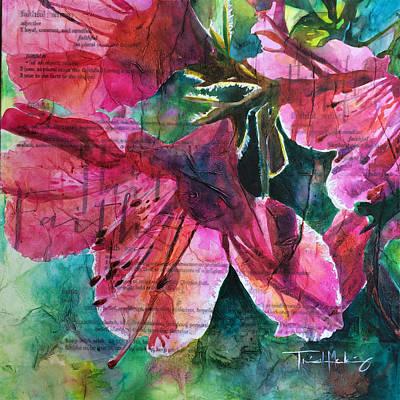 Faith - Pink Azalea Poster by Trish McKinney