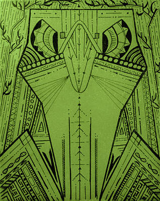 Falcon  Poster by Katrina Flood