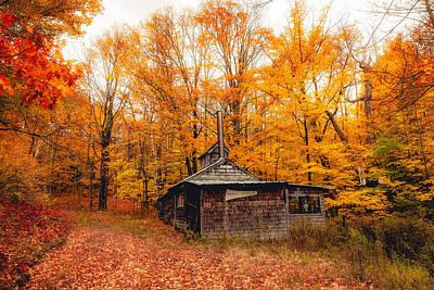 Fall At The Sugar House Poster