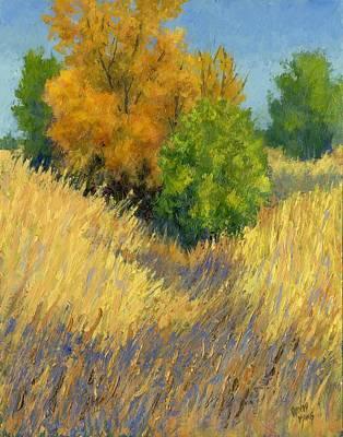 Fall Begins Poster by David King