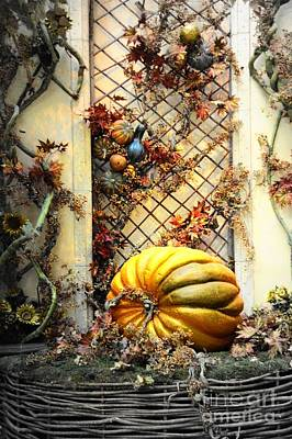 Fall Decoration Poster