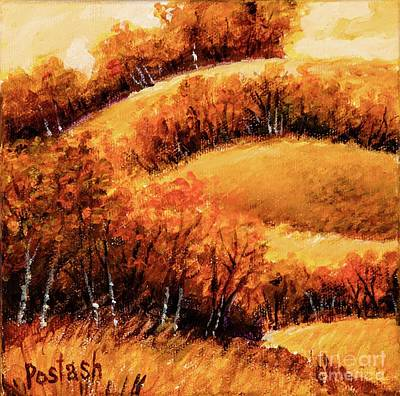 Poster featuring the painting Fall by Igor Postash