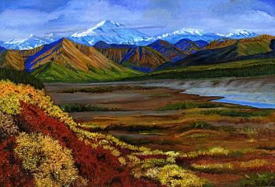 Fall In Alaska Poster by Vidyut Singhal