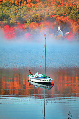 Fall In Eaton New Hampshire Poster by Eric Gendron