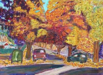 Fall In Santa Clara Poster