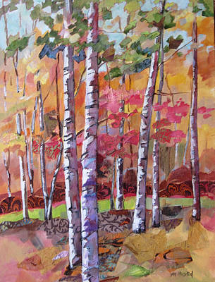 Fall Medley Poster by Marty Husted