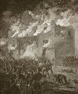 Fall Of The Alamo Poster