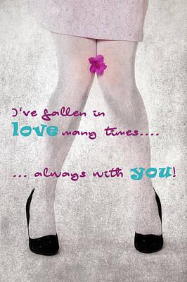 Fallen In Love Poster by Joana Kruse