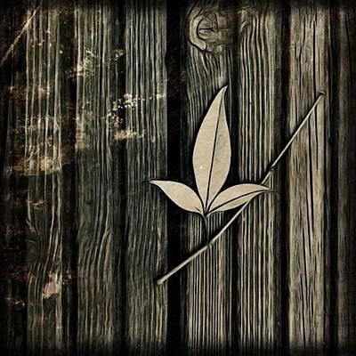 Fallen Leaf Poster by John Edwards