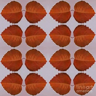 Fallen Leaves Arrangement Poster by Helena Tiainen