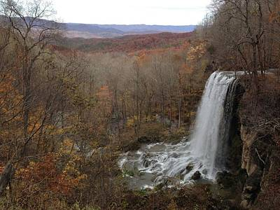 Falling Spring Falls, Va Poster