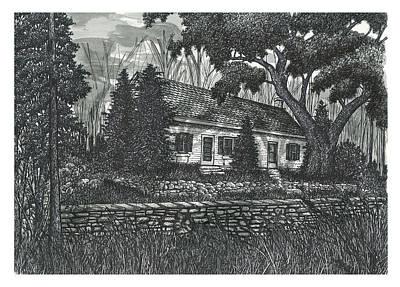Fallingbrook Farm House, Silvercreek Conservation Area Poster