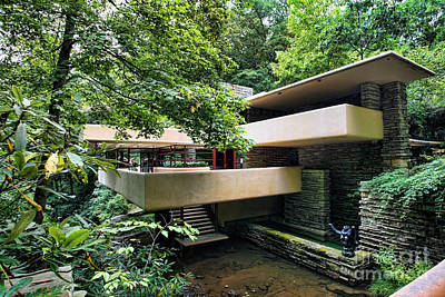 Fallingwater Flw Poster