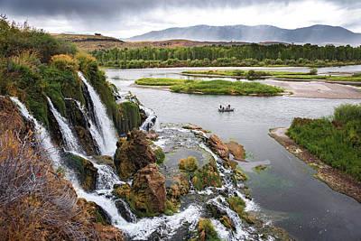 Falls Creak Falls And Snake River Poster