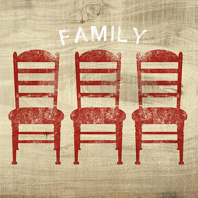 Family- Art By Linda Woods Poster