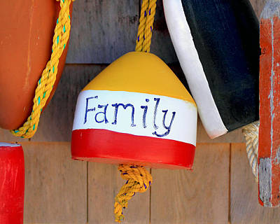 Family Buoy Poster