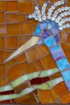Fantasy Bird Blue Poster