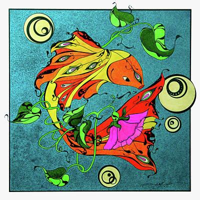 Fantasy Fish Poster