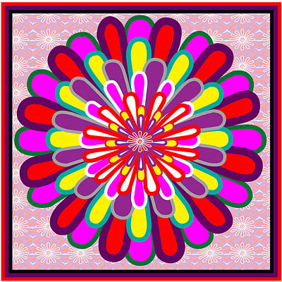 Fantasy Flower Graphics Basics Used This Art To Creat A Lotus Flower Posted Elsewhere In My Gallery Poster
