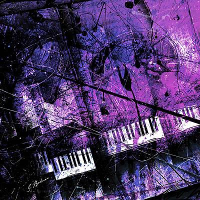 Fantasy In F Minor Poster by Gary Bodnar