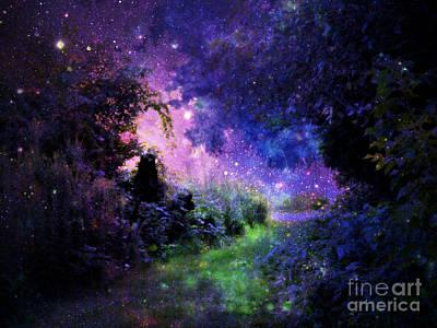 Fantasy Path Poster by Johari Smith