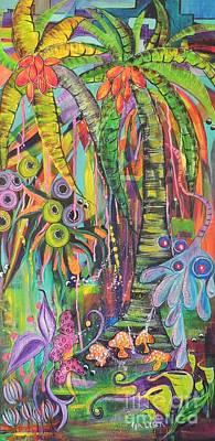 Fantasy Rainforest Poster